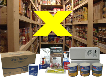 Food Kits | calculate minimum 2 fully blanced meals per day | Prepper supplies: Emergency and Disaster Preparedness - tools and equipment for emergency preparedness, emergency management and disaster recovery | standard and bespoke Preparedness Kits from EVAQ8.co.uk the UK's Emergency and Disaster Preparedness specialist