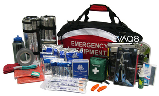 72 hour Disaster Preparedness Kit to shelter-in-place  | Prepper supplies: Emergency and Disaster Preparedness - tools and equipment for emergency preparedness, emergency management and disaster recovery | standard and bespoke Preparedness Kits from EVAQ8.co.uk the UK's Emergency and Disaster Preparedness specialist